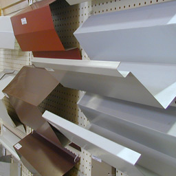 Colored Metal Building Components